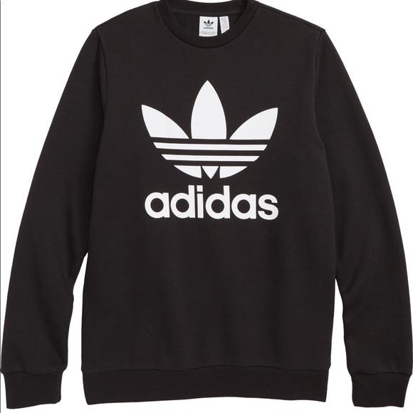 adidas Tops - Adidas Trefoil Logo Sweatshirt XS